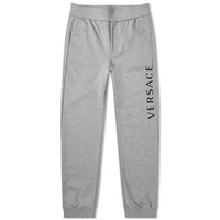 Versace Printed Logo Sweat Pant Grey