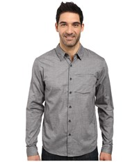 Arc'teryx Astute L S Shirt Magnet Men's Long Sleeve Button Up Gray
