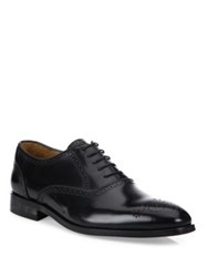 Paul Smith Gilbert Leather Wingtip Oxfords Black