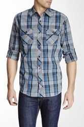 Micros Komptu Plaid Shirt Blue