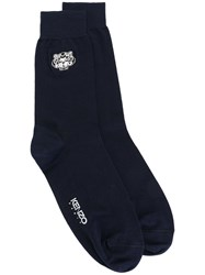 Kenzo 'Mini Tiger' Socks Blue