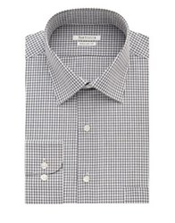 Van Heusen Regular Fit Check Dress Shirt Blue