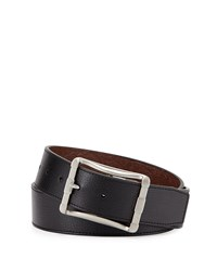 Robert Graham Baker Reversible Embossed Belt Black Brown