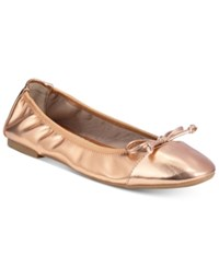 Rialto Sunshine Stretch Flats A Macy's Exclusive Style Women's Shoes Rose Gold
