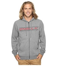 O'neill Collect Zip Heather Grey Men's Clothing Gray