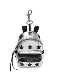 Saint Laurent Backpack Leather Keychain Grey Black