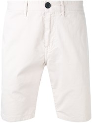 Paul Smith Ps By Twill Shorts Men Cotton Spandex Elastane 30 Nude Neutrals