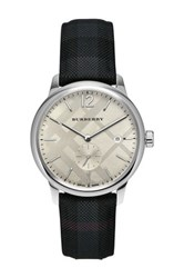 Burberry Men's Charcoal Check Watch