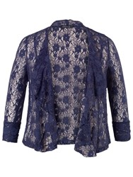 Chesca Stretch Lace Shrug Night Sky
