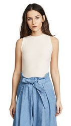 Getting Back To Square One The Rib Muscle Tee Blush