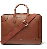 Mulberry Belgrave Full Grain Leather Briefcase Brown