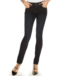 Inc International Concepts Petite Elastic Waist Skinny Jeans Darling Wash