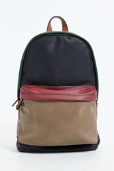 Mosson Bricke Colorblock Backpack Green