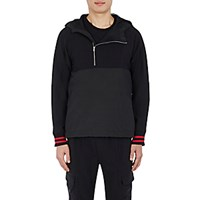 Westbrook Xo Barneys New York X Tim Coppens Men's Wool And Tech Taffeta Hooded Anorak Black