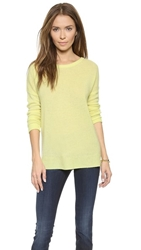 Minnie Rose Relaxed Cashmere Pullover Art Basel