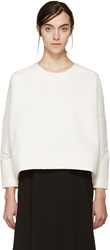 Studio Nicholson Cream Navoli Double Shell Blouse