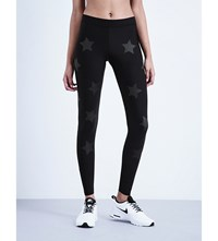 Ultracor Ultra Luxe Knockout Print Leggings Nero Matte Nero