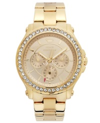 Juicy Couture Watch Women's Pedigree Gold Tone Stainless Steel Bracelet 38Mm 1901049
