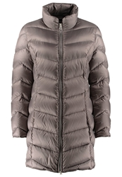Betty Barclay Short Coat Shiny Toffee Taupe