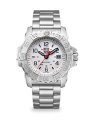 Luminox Navy Seal Steel Diver Stainless Steel Bracelet Watch No Color
