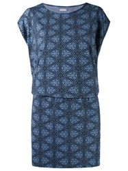 Lygia And Nanny Printed Tunic Dress Blue