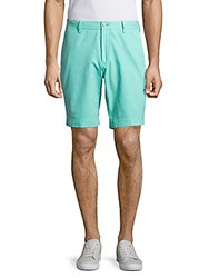 Lauren Ralph Lauren Pima Cotton Four Pocket Shorts Pale Aqua