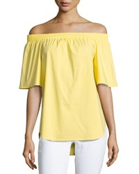 Finley Sabra Off The Shoulder Top Yellow