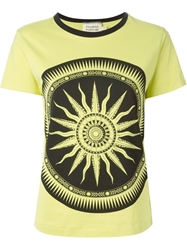 Fausto Puglisi Printed Crew Neck T Shirt