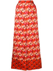 Temperley London Dragonfly Trousers Red