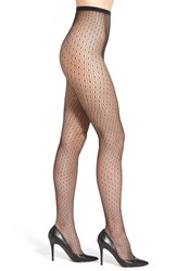 Women's Dkny 'Spring' Floral Lace Tights