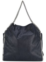 Stella Mccartney Big Falabella Tote Women Artificial Leather Metal Other One Size Blue