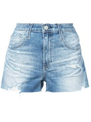 Ag Jeans Bryn Shorts Blue