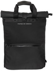 Porsche Design Sport Water Resistant Nylon And Leather Backpack