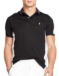 Polo Ralph Lauren Color Blocked Performance Mesh Polo Shirt