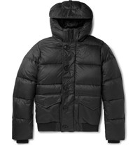 Canada Goose Ventoux Quilted Nylon Hooded Down Jacket Black