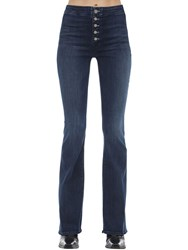 Mother The Hollywood Pixie Flared Stretch Jeans Blue