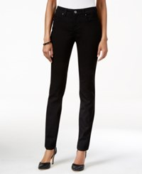 Styleandco. Style And Co. Curvy Fit Skinny Jeans Only At Macy's Black