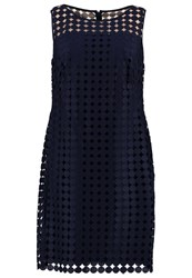 Lauren Ralph Lauren Woman Cocktail Dress Party Dress Lighthouse Navy Dark Blue