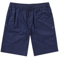 Stussy Light Twill Beach Short Blue