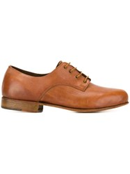 Geoffrey B. Small Classic Lace Up Shoes Brown
