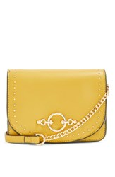 Topshop Osen Stud Circle Crossbody Bag Yellow