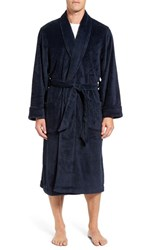 Nordstrom Men's Terry Robe Navy Blue