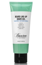 Baxter Of California Beard Line Up Shave Gel No Color