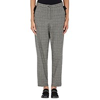 Yune Ho Women's Annex Glen Plaid Trousers Grey