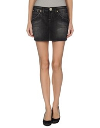 S.O.S By Orza Studio Denim Skirts Black