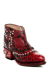 Free People Chasing Cowboys Ankle Boot Red