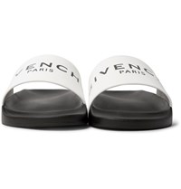 Givenchy Rubber Slides White