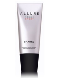 Chanel Allure Homme Sport After Shave Moisturizer 3.4 Oz. No Color