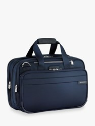 Briggs And Riley Baseline Expandable Cabin Bag Navy