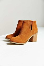Urban Outfitters Dindle Suede Ankle Boot Brown